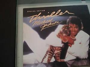 Michael jackson cd thriller ltd edition Leanyer Darwin City Preview