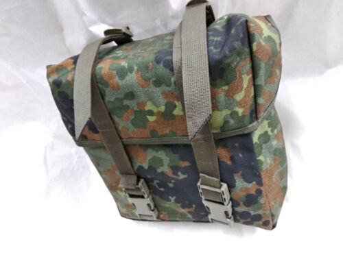 German Army BW Flecktarn Butt pack general purpose pack , German military issue