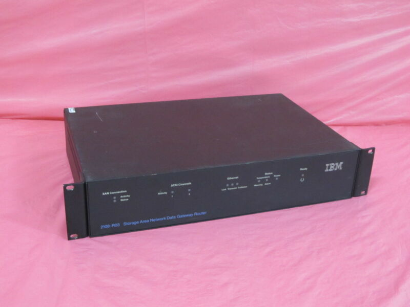 2108-r03-routeronly Ibm Corporation Ibm San Data Gateway Router - No Cables Or A
