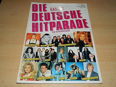 Deutsche Hitparade Band 6 - Noten und Text für Keyboard - Siegel Musikverlage
