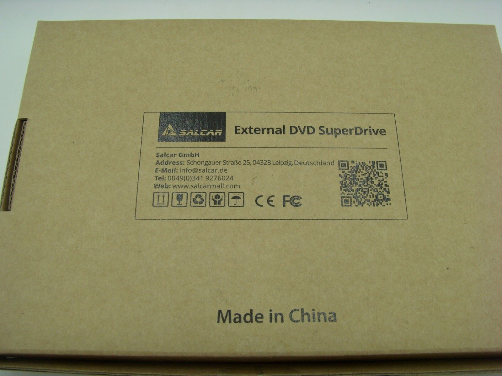 Salcar Externes Dvd-lesegerät USB 2.0 Tragbar Windows Apple  NEU