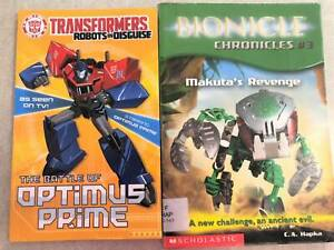 TRANSFORMERS The Battle of Optimus Prime LEGO BIONICLE CHRONICLES