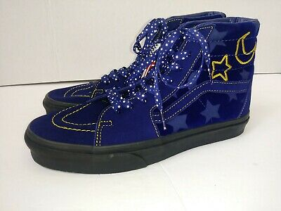 9be38407bd Vans Off The Wall Men s 7 Women s 8.5 Disney Mickey Mouse Sorcerer s Purple