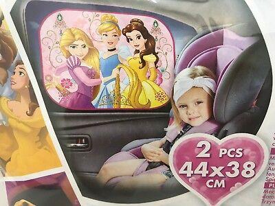 Disney Princess Prinzessinnen rosa Auto KFZ Sonnenschutz - Baby Disney Prinzessinnen