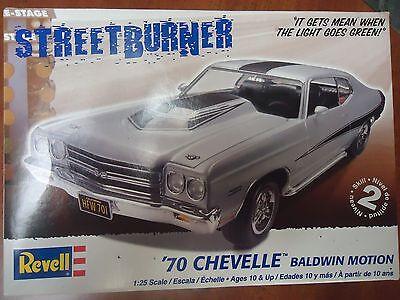 Revell 1/25 70 Chevelle Resin Cast Pro Street Chassis.