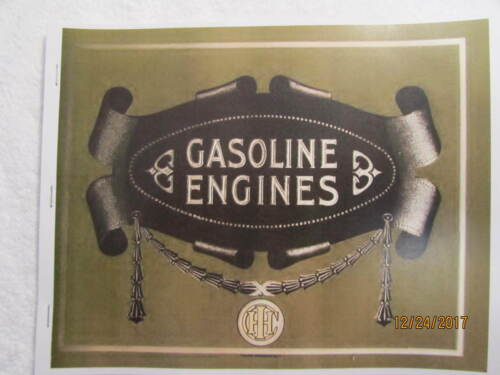 IHC International Harvester Gas Engine Catalog All sizes, tractors, saws,  pumps