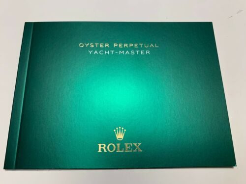 ROLEX YACHT-MASTER Manual Booklet