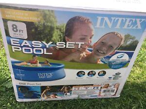 "Intex 8ftx30"" pool"