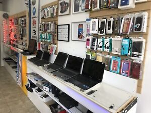 Boutique cellulaires usagés et service de réparation