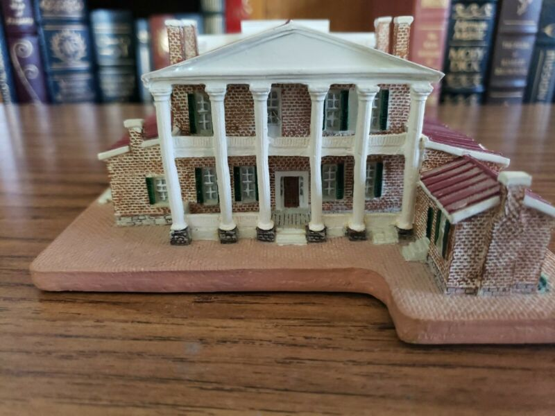Danbury Mint Homes Of The Presidents The Hermitage Nashville Andrew Jackson
