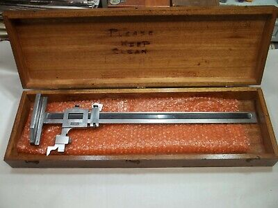 Brown Sharpe No. 585 Machinists 24 Vernier Height Gage Usa