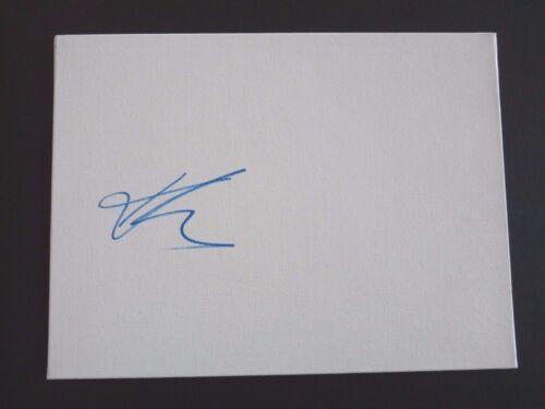 Karen Gillan Sexy Signed Autographed 9x12 Sketchboard PSA Guaranteed