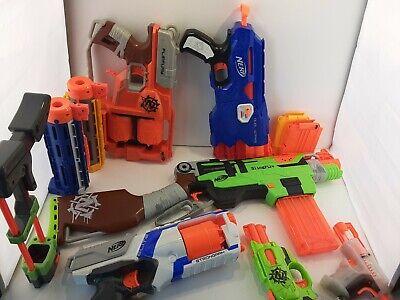 Nerf Zombie Strike Flipfury Blaster, Slingfire, Strong arm, dual-strike, Extras