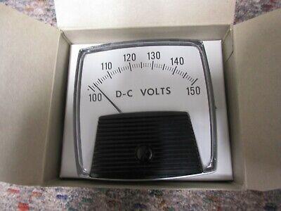 Yokogawa Analog Panel Meter 100-150 Dc Volts