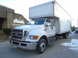 2008 Ford F650 XLT Super cab,Cummins engine,Liftgate,Reg licence.