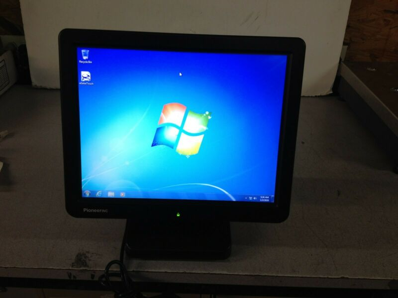 "PioneerINC AsterxTouch-X5 Asterix X5 Windows POS 7 Monitor 15"""