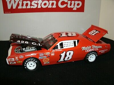 #18 BIG JOE FRASSON 1971/72 MARIO FRASSON CEMENT CO. DODGE CHARGER 1/24 CUSTOM