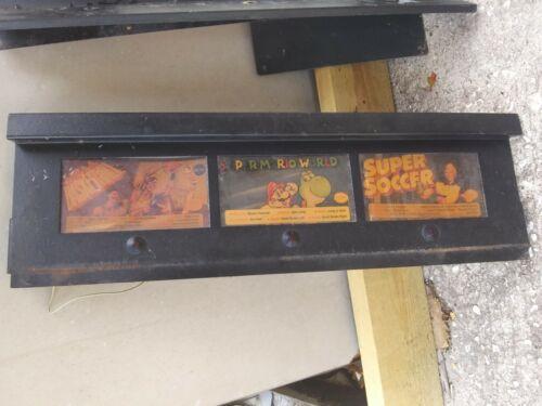 Nintendo Super System Arcade Select Marquee