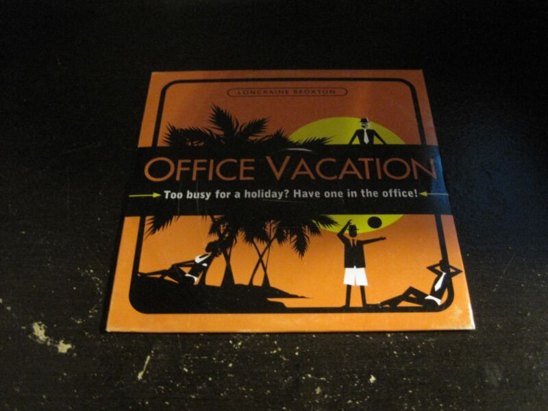 LONCRAINE BROXTON OFFICE VACATION PC MAC CD ROM NEW