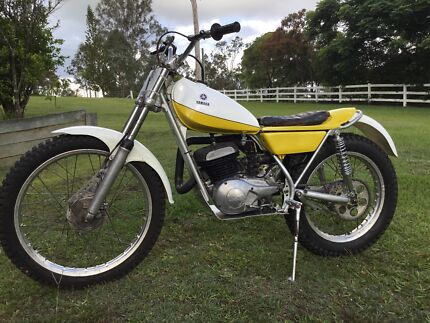 Yamaha TY250A Trials Bike 1974