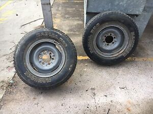 Hilux land cruiser hiace rims with tyres Kensington Eastern Suburbs Preview