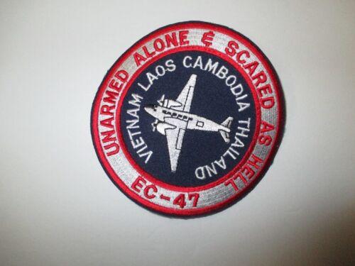 b6385 US Air Force Vietnam Gun Ship EC47 Unarmed Alone & Scared As Hell IR23E