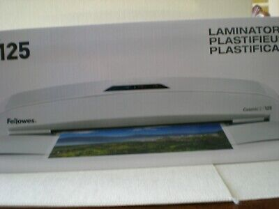 Fellowes Cosmic 2 125 Laminator 12.5 Wide X 5mil Max Thick One Touch Control