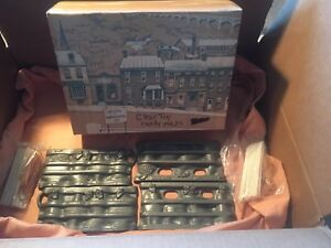 John Wright Lot Of Two Christmas Candy Chocolate Cast Iron 2 Piece Molds