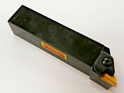 Sandvik Ckjnl 20-3d Tool Holder W Knux 160405-l11 Carbide Inserts  E157