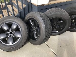 Four 275/60R/20 Mud and Snow All Season  Dodge Ram 1500 20 in