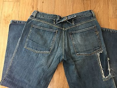 Women DIESEL  Denim Wide Straight  Jeans Sz 30