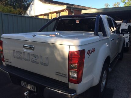 Isuzu D-Max******2015 3 Piece Hard Cover and Sports Bar USED Woy Woy Gosford Area Preview