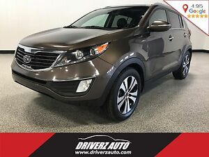 2012 Kia Sportage EX AWD, LEATHER, NAVIGATION