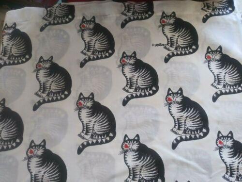 Vintage Kliban Cat Queen Size Flat Sheet