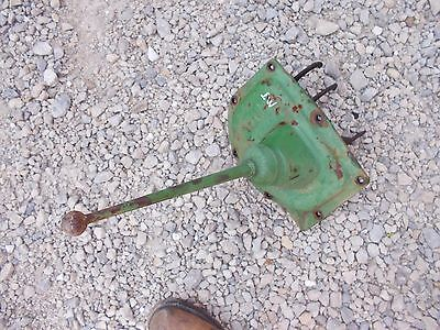 John Deere Mt Tractor Original Jd Transmission Cover Panel Gear Shifter Tower