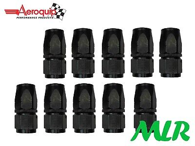 AEROQUIP AN-8 JIC STRAIGHT OIL COOLER REMOTE FILTER PIPE UNION FBM4413 SET OF 10