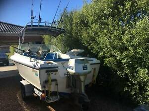Boat 17ft runabout/fishing