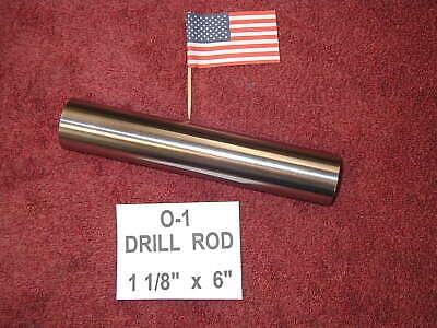 1 18 X 6 Drill Rod 0-1 Tool Steel Precision Ground 1.125 Machinist