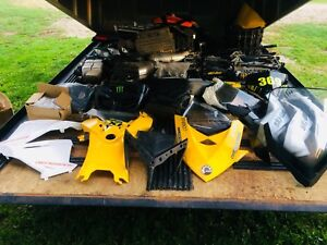 2000-2019 skidoo trailer load of parts for sale $1500