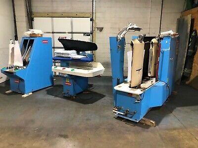 Unipress Steam Press Line Body Sheever Legger Steamer