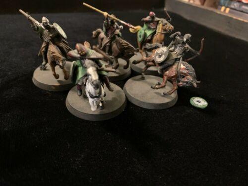 LOTR Games Workshop Rohan Riders Lot B Plastic GW Hobbit Painted