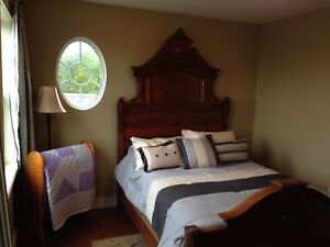 Double Bed Frame w/ Matching Dresser
