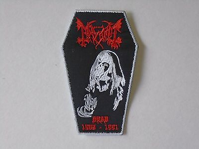 MAYHEM DEAD 1969-1991 EMBROIDERED PATCH