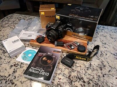 Nikon D810 36.3MP Digital SLR Camera + Extras!