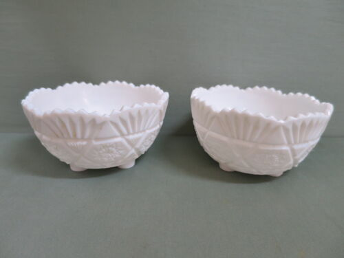 Victorian Milk Glass Bowl