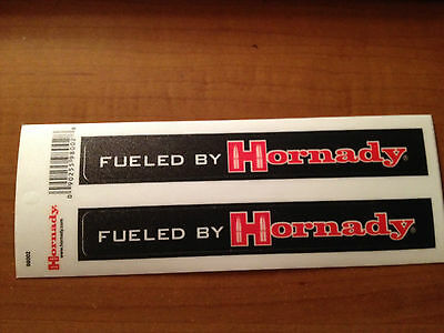 Fueled by Hornady sticker     Free shipping!!