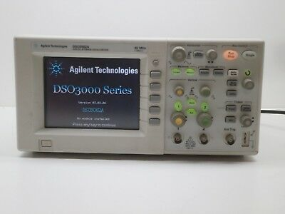Agilent Technologies Dso3062a Digital Storage Oscilloscope 60mhz