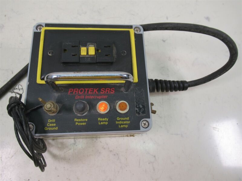 Protek SRS Drill Interrupter Power Tool Safety Device for Hammer Drill