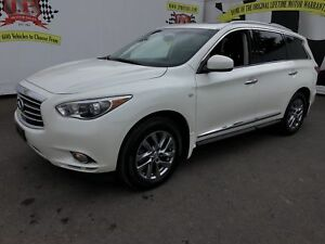 2015 Infiniti QX60 3rd Row Seating, Leather, Sunroof, AWD