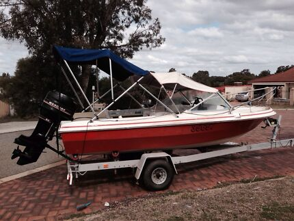 Boat with trailer.  Beechboro Swan Area Preview